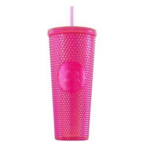 Starbucks 2019 Studded Pink Tumbler - 24oz NWT